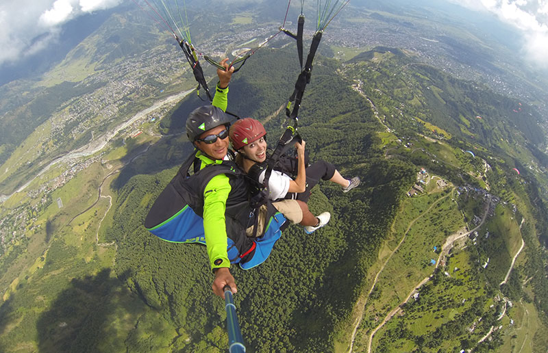 A Guide to Paragliding in Pokhara - TrekkingPartners